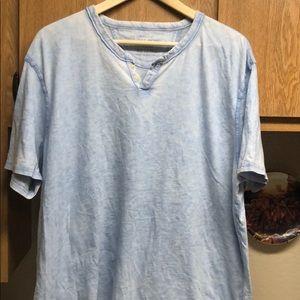 Lucky Brand Short Sleeve Henley T-shirt 🍀